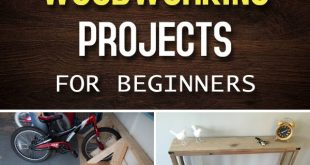 15 Cool Woodworking Projects for Beginners