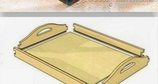 DIY Butler Tray - Woodworking Plans and Projects | WoodArchivist.comhttp://wooda...
