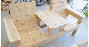 DIY Outdoor Patio Furniture Ideas Free Plan [Picture Instructions]