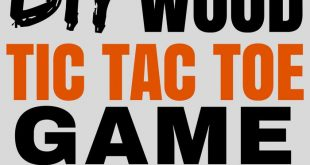 How to Make Tic-Tac-Toe Game (Great Gift Idea)