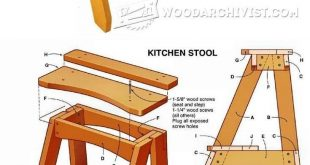 #Kitchen Step Stool Plans - Furniture Plans and Projects… #woodworkingbench