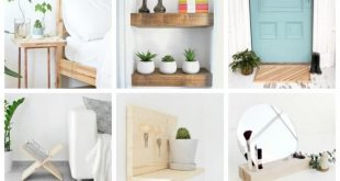 20 Easy Woodworking Projects To Make Your Home More Beautiful