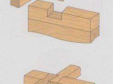 Konstruktionsfugen aus Holz
