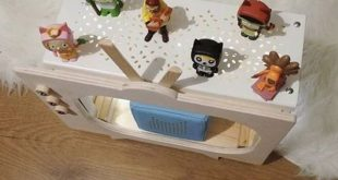 IKEA Holzkiste Hack: Toniebox Regal selber bauen mit KNAGGLIG