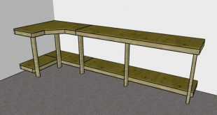 Garage Workbench Plans | MyOutdoorPlans | Free Woodworking Plans and Projects, D...