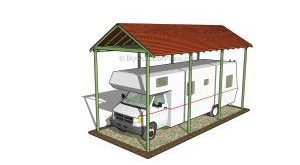 Carport Plans Free   MyOutdoorPlans   Free Woodworking Plans and Projects, DIY S...