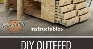 DIY Outfeed Workbench With Torsion Box #woodworking #workshop #WoodworkingPlansW...