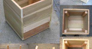 14 Square Planter Box Plans Best for DIY (100% Free)