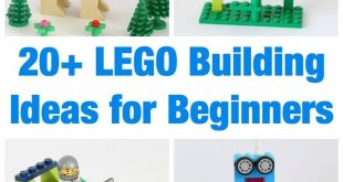 20+ Tolle LEGO-Bauideen für Anfänger #anfanger #bauideen #tolle