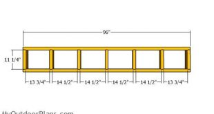 5x8 Lean to Shed Plans - Free PDF Download   MyOutdoorPlans   Free Woodworking P...