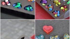 {Abschied vom Kindergarten} Krümelmonster-Muffins und herzige DIY-Wachsmalstifte