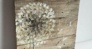 Bei 12 x 12 Zoll diese schöne Kunst auf Palettenholz, bietet Ihnen etwas sehr e… #WoodWorking