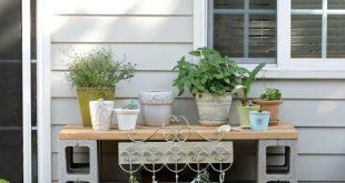Cinder Block Furniture – 8 einfache DIY-Ideen – Bob Vila #block #cinder #einfach… #WoodWorking