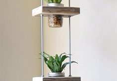 Create a vertical planter or herb garden for your kitchen! Find your dream home