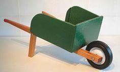 DIY: Child's Wheelbarrow Plans