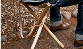 Folding Tripod Camp Stool - Camping Chair - Ideas of Camping Chair #campingchair...