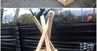Paletten Kinderspielhaus #WoodWorking #WoodWorking