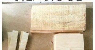 Simple step stool, DIY step stool, scrap wood step stool, stool, step. Woodworki...