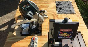 Teds Holzbearbeitung - Mega Ultimate Workbench. Ich wollte Platz in meiner Garag...