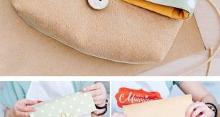 We sew a cosmetic bag. DIY tutorial. ~ Sewing projects for beginners. Step by st...